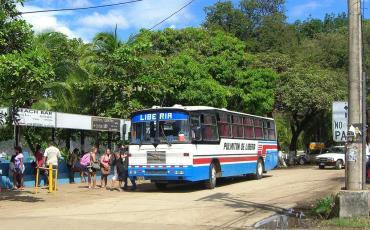 Public bus in Costa Rica
