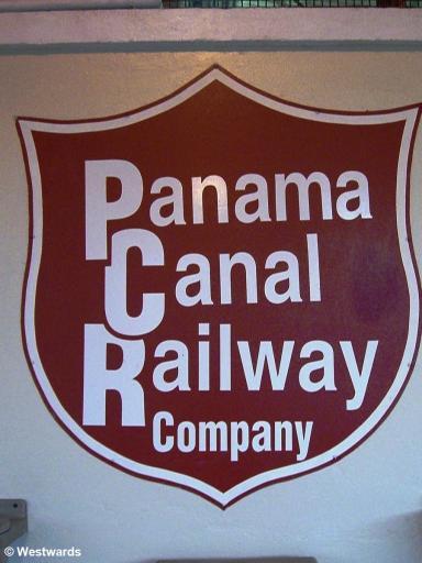 Panama Canal Railway sign