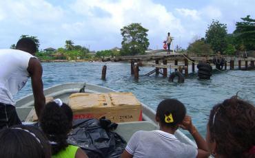 Crossing the Darien Gap by boat, landing at Capurgana