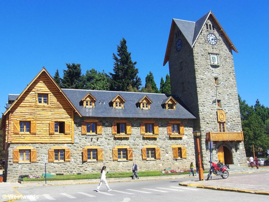 Centro Civico in Bariloche, Argentina