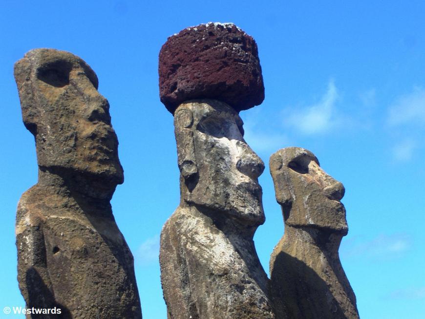 Rapa Nui Ahu Tongariki detail