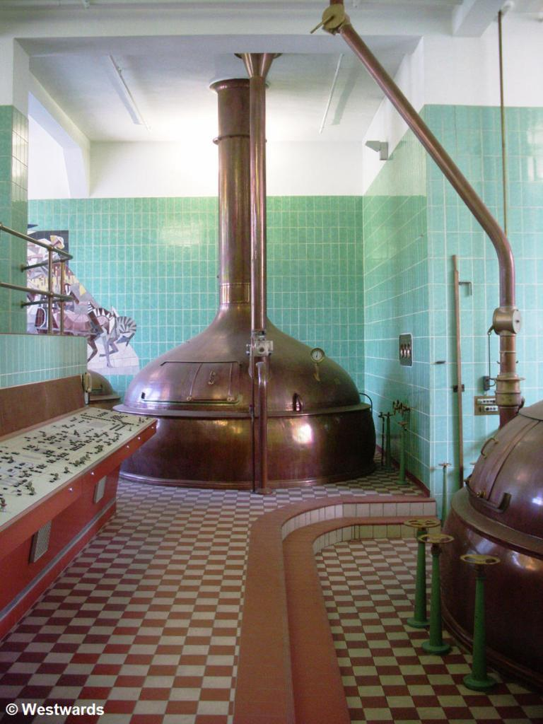 Lauter tun in the Kulmbach brewery museum
