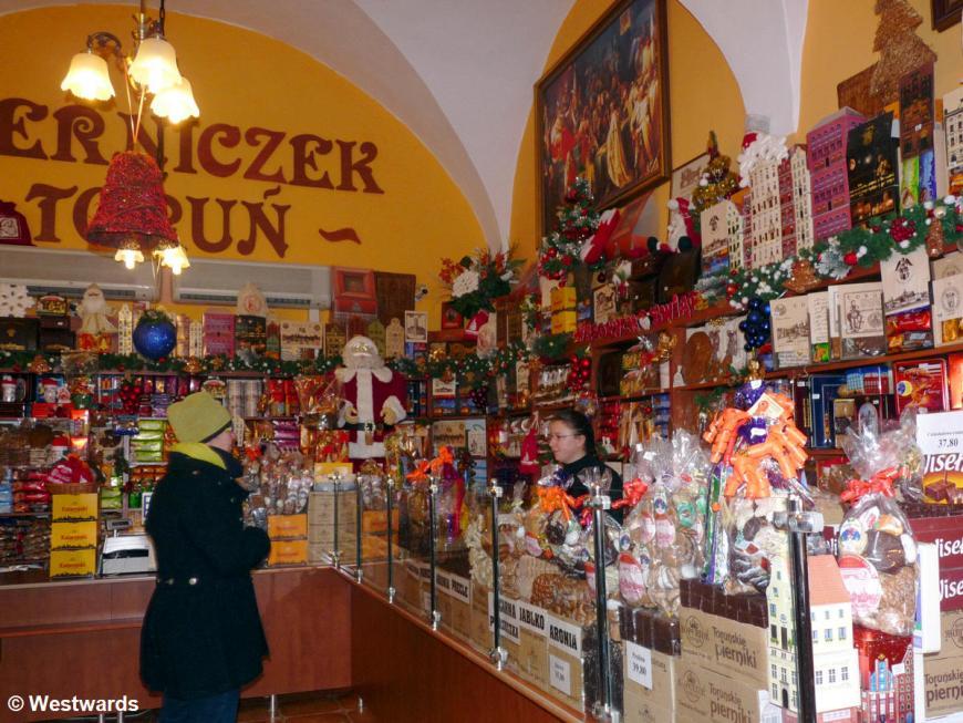 gingerbread shop Pierniczek Torun