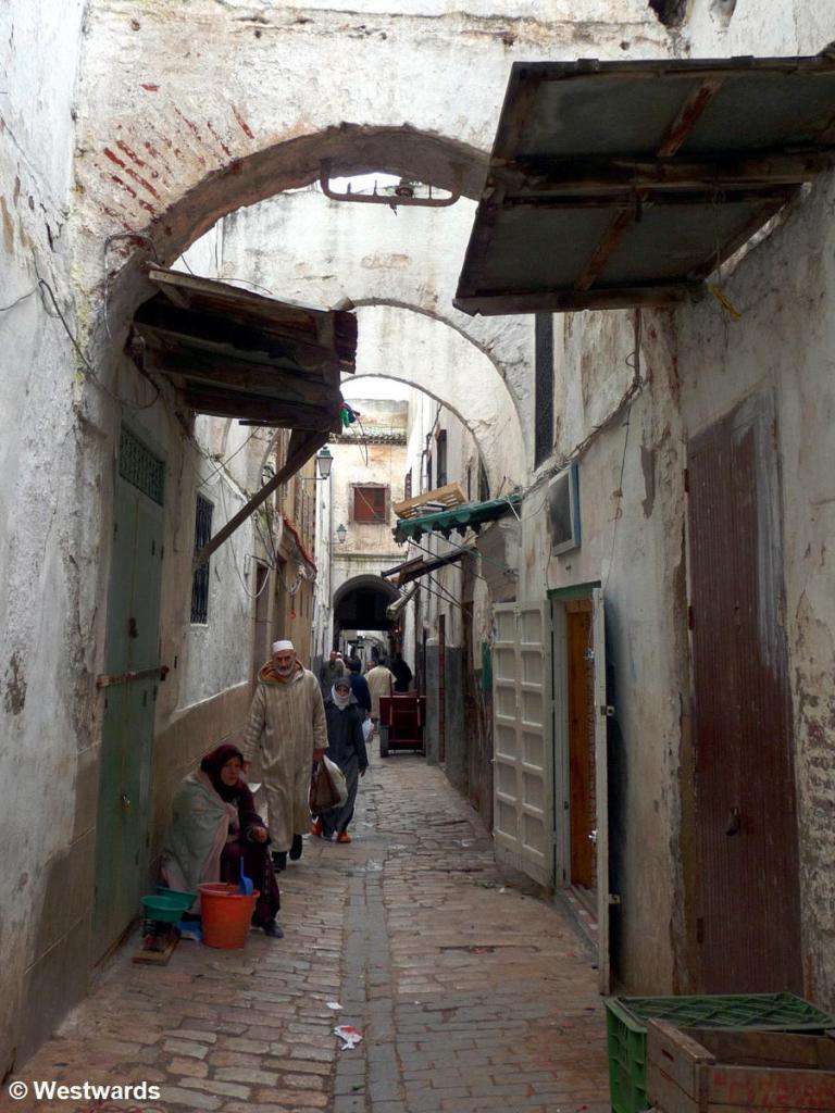 lane in Tetouan Medina, Morocco