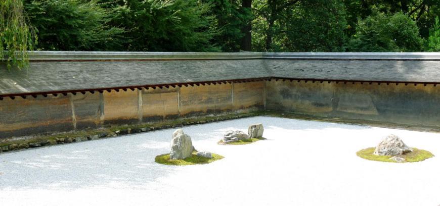 Ryoanji temple garden