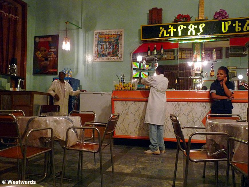 Cafe Ethopia in Gonder