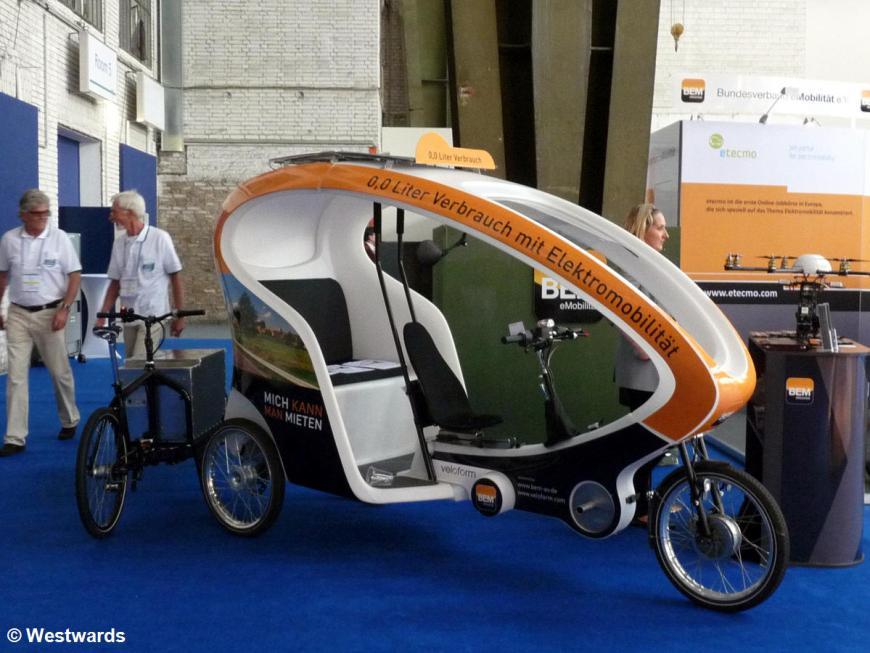 e-bicycle at the Tempelhof Challenge Bibendum event