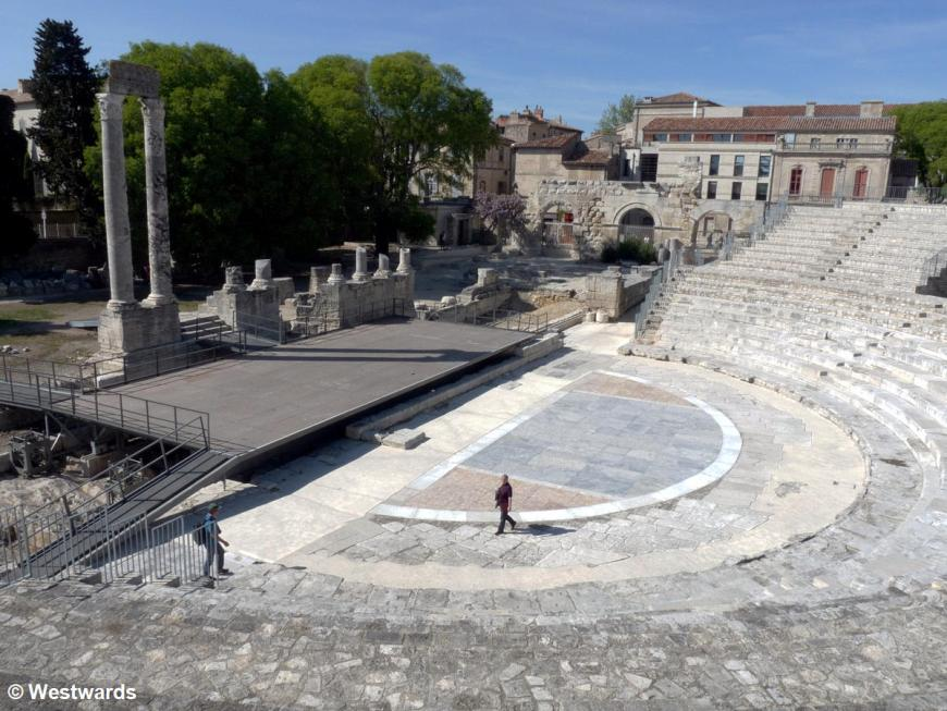 20120409 Arles Roman theater P1330665
