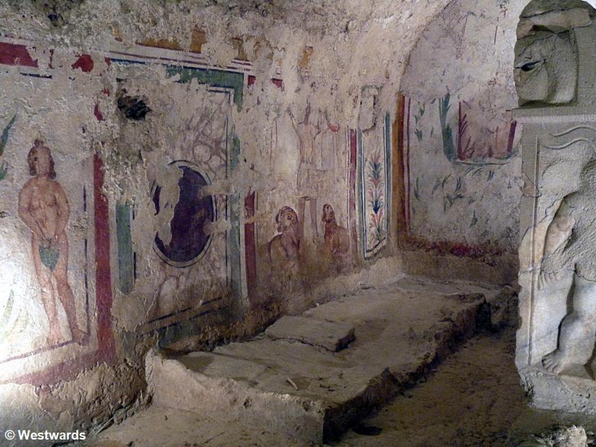 20120529 Pecs Fruehchristliches Mausoleum P1340930