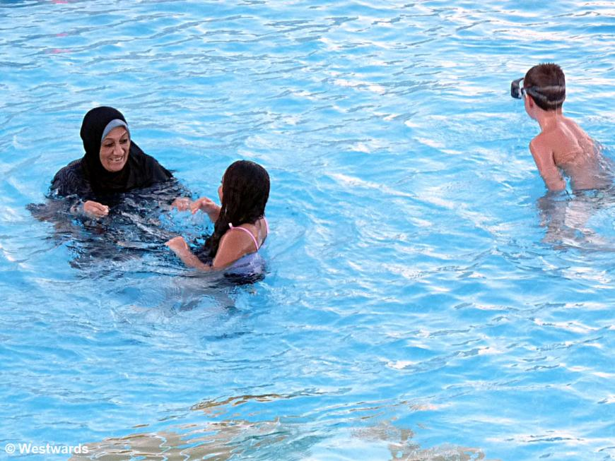 20121218 Hurghada Beach Steigenberger Hotel pool P1380468