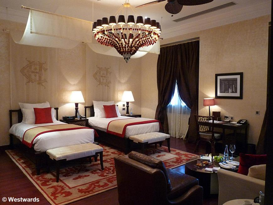 20121228 Assuan Old Cataract Hotel room P1390508
