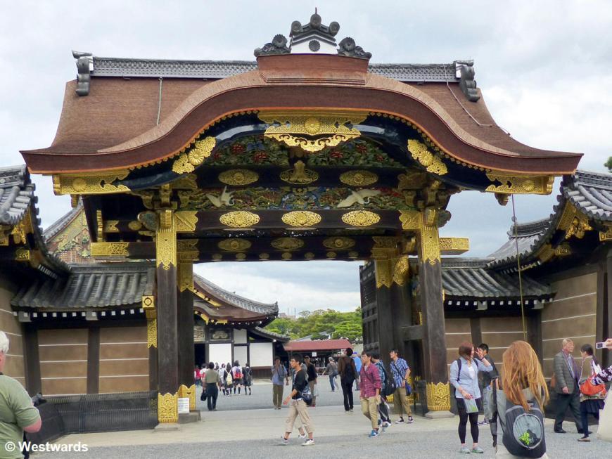 Karamon gate in Nijo Palace, Kyoto