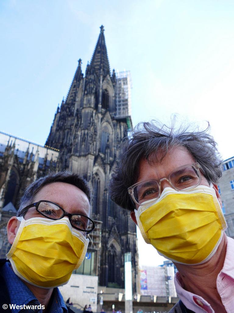 Isa and Natascha in Cologne
