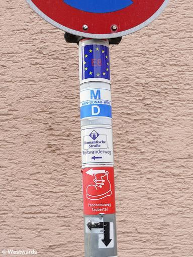 20201023 Tauberbischofsheim Wegweiser P1840045
