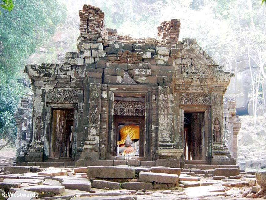 Vat Phou in Champasak, a Khmer temple in Laos
