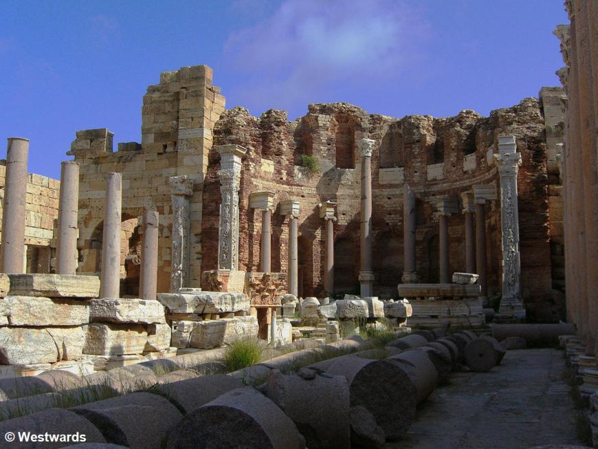 Septimius Basilica in Leptis Magna