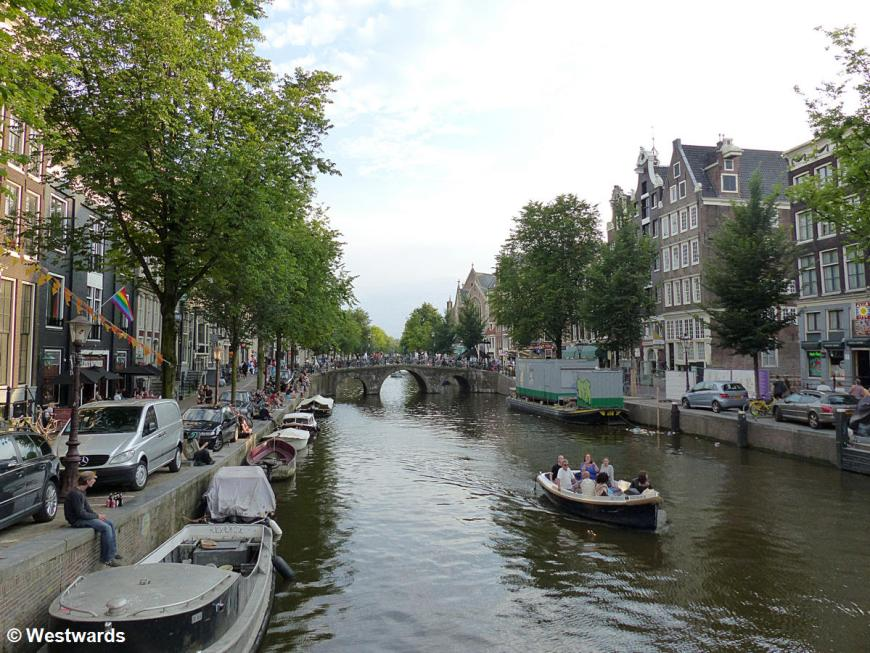 town canals in Amsterdam