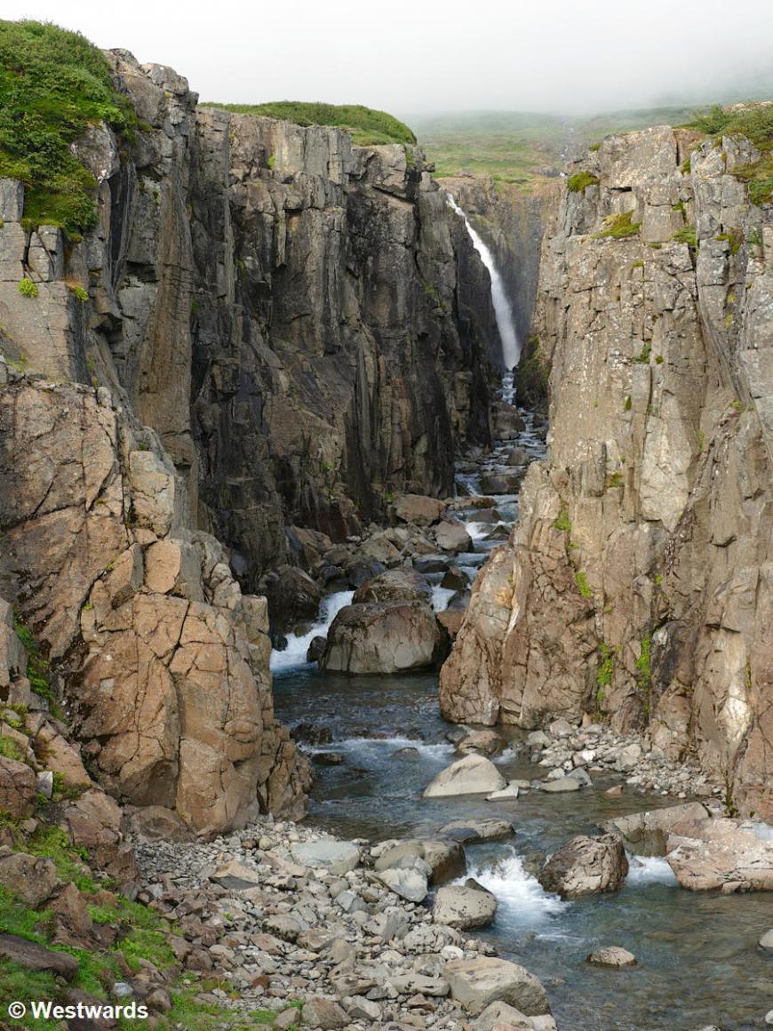 Godha waterfall near Drangsnes