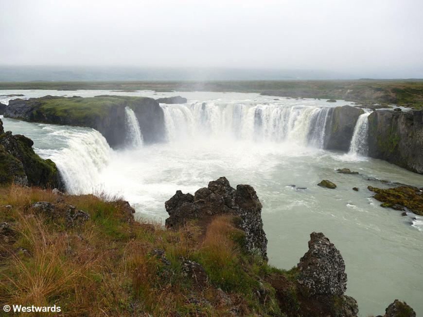 Godhafoss waterfall near Akureyri