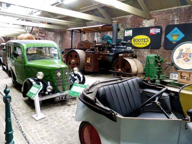 Bradford Industrial Museum, Scott Sociable & Jowett Utility. 2015.