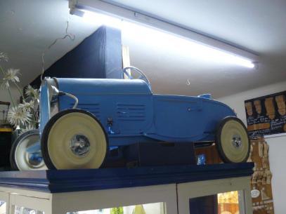 Antiques 04 Pedal Car BF