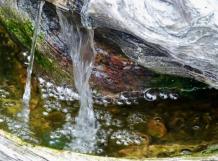 Waterfall - BW