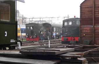 Hoorn to Medemblik steam tram awaits