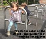 feels safer