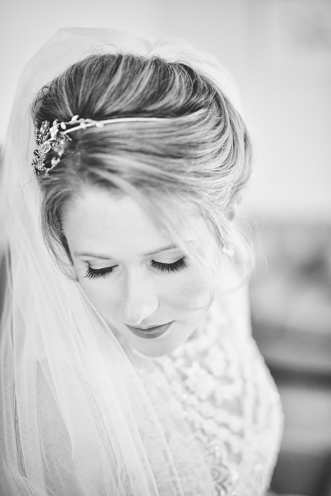 Bride - Sandhole Oak Barn Wedding