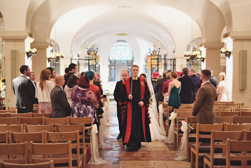 St Paul's Wedding Photographer - Inside the Crypt