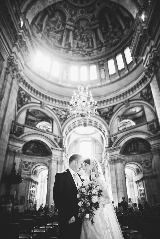 St Paul's Wedding Photographer