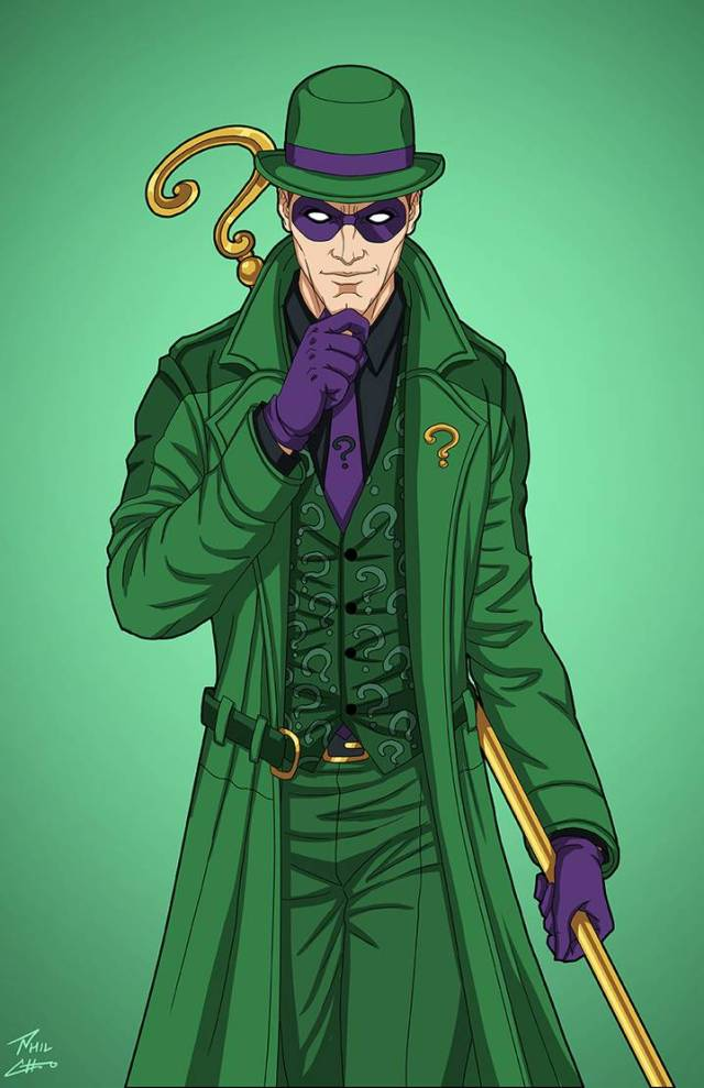 the riddler  e 27  enhanced  commission by phil cho dd2q66r pre 1