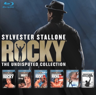 rocky collection   dvd