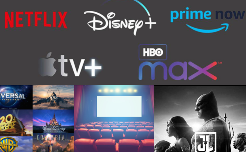 Where we stand with Cinema, Film Studios and Streaming services