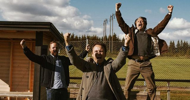 Magnus Millang, Lars Ranthe and Mads Mikkelsen in Another Round