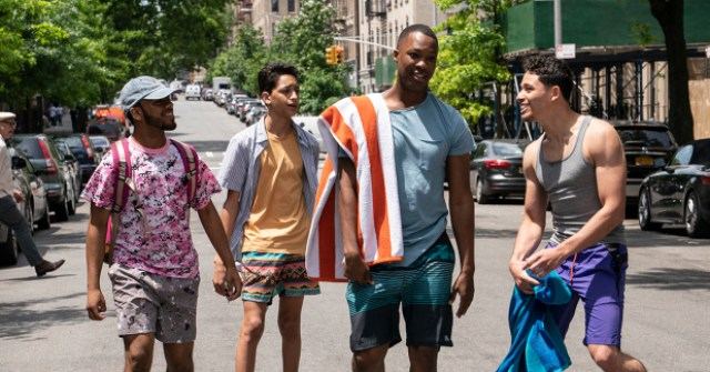 Noah Catala, Gregory Diaz, Corey Hawkins and Anthony Ramos, In The Heights