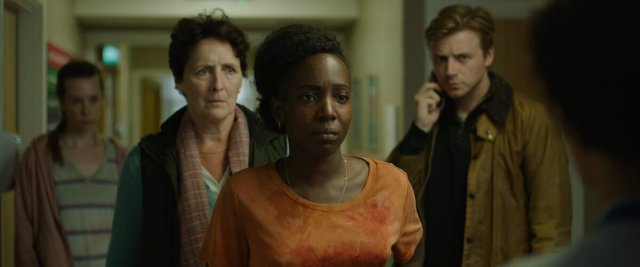 Fiona Shaw, Tamara Lawrence and Jack Lowden in Kindred