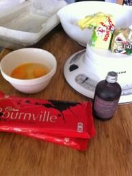 beetroot brownie ingredients