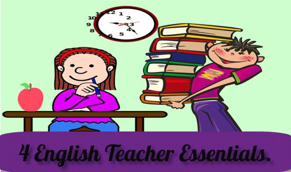 Things English teachers must do.
