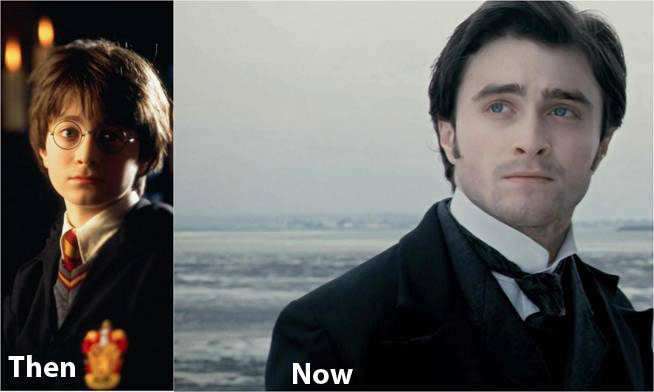Harry Potter Characters Then And Now