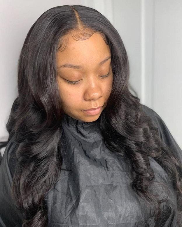 Black Women Sew In : black, women, Curly, Sew-in, Hairstyles, Black, Women, WeTellYouHow
