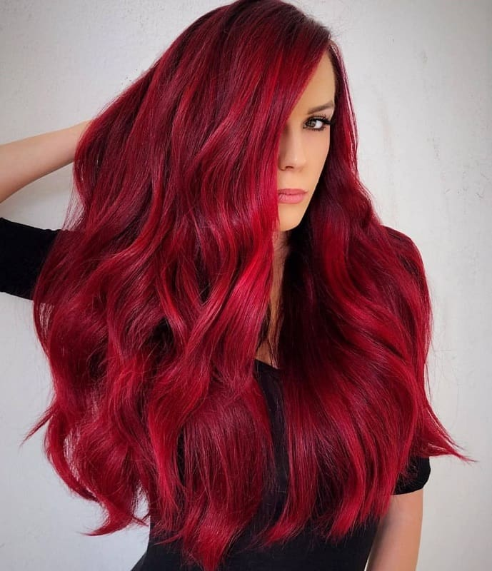 5 Amazing Ruby Red Hair Color Ideas to Try in 2019 ...