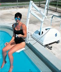 The Best Swimming Pool Lift Chairs 2009 | Wet Head Media