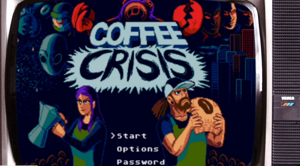 Coffee Crisis, a brand new Genesis game