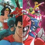 Justice League vs Mighty Morphin Power Rangers #1