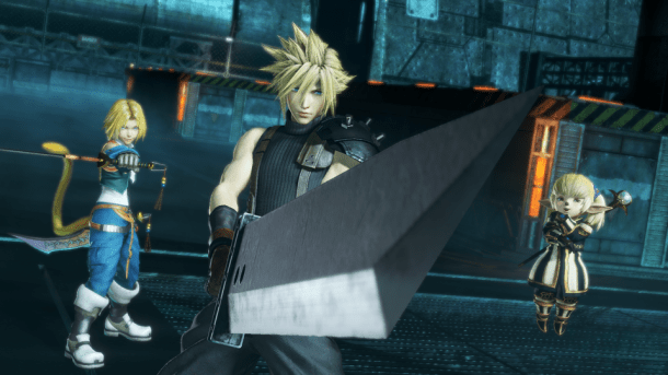 Dissidia Final Fantasy NT Cloud