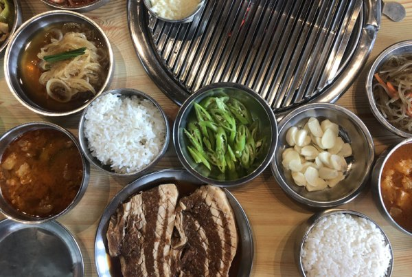 samgyupsalamat side dishes