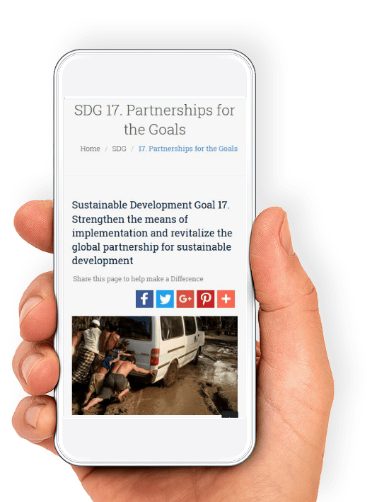 cause integrated marketing web app for SDGs