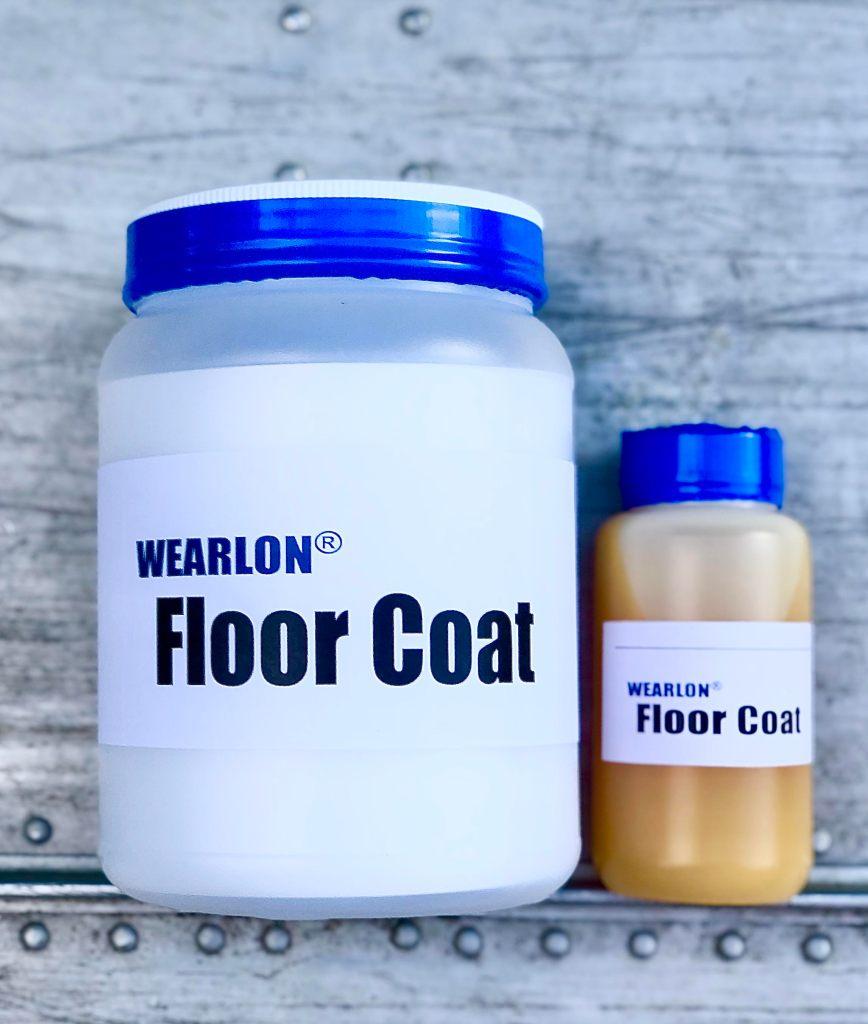 Image of Wearlon Floor Coat container with it's catalyst.