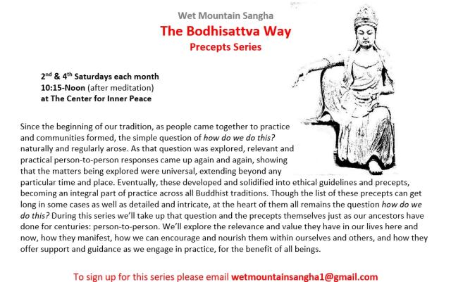 precepts flyer